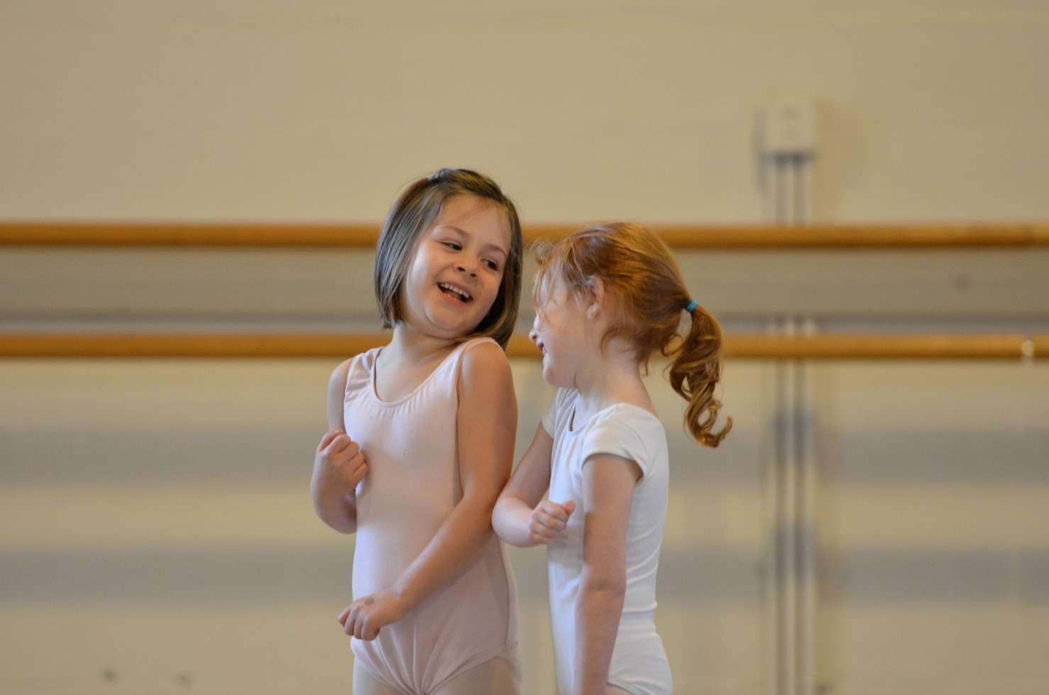 Lifelong friendships are formed in dance class.